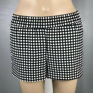 J.Crew Factory polka Dot Boardwalk Pull-on Shorts